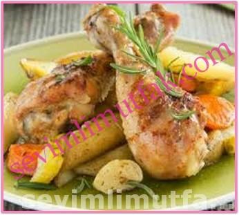 Fırın Poşetinde Tavuk Yemeği Nasıl Yapılır?