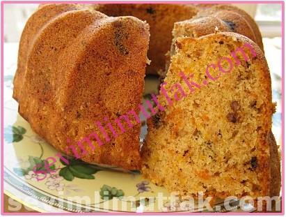 Havuçlu Cevizli Tarçınlı Kek Nasıl Yapılır?