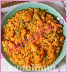 Pirinçli Karnabahar Yemeği Nasıl Yapılır?