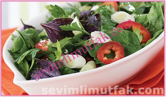 Roka Salatası Nasıl Yapılır?