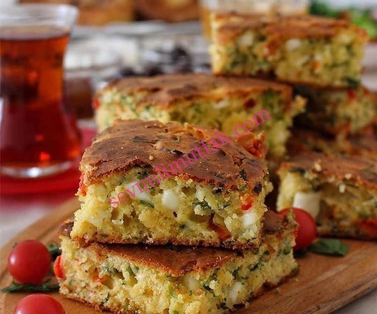 Sebzeli Mısır Ekmeği Nasıl Yapılır?